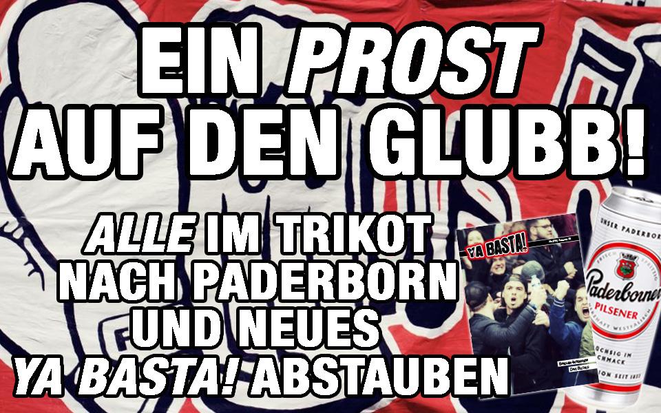 Ya Basta! Paderborn auswärts