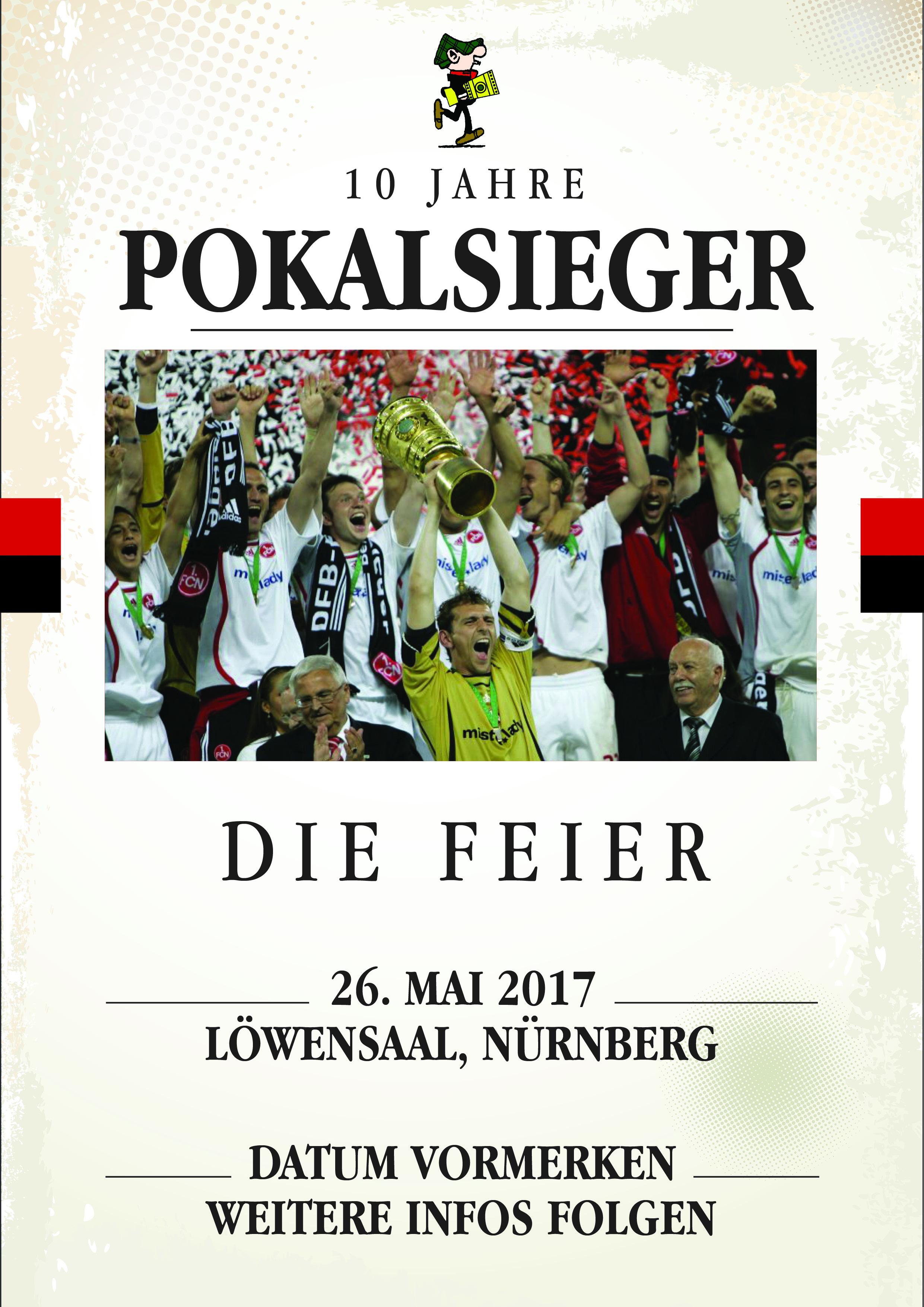 10 Jahre Pokalsieger - Die Feier