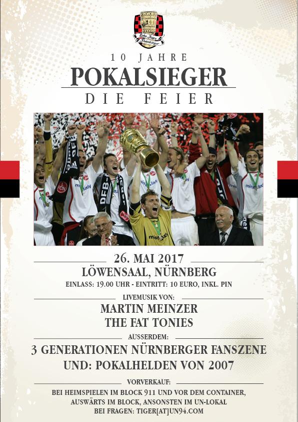 10 Jahre Pokalsieger