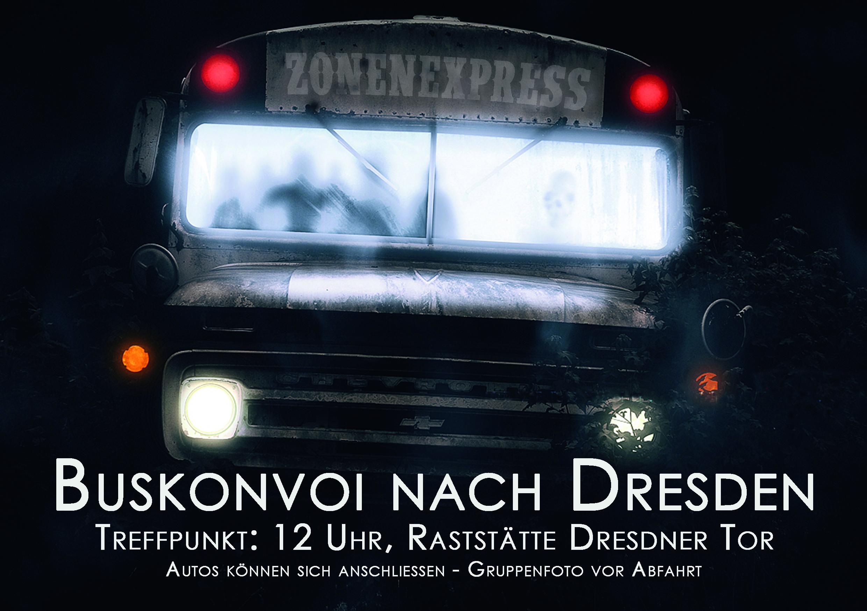 Buskonvoi Dresden