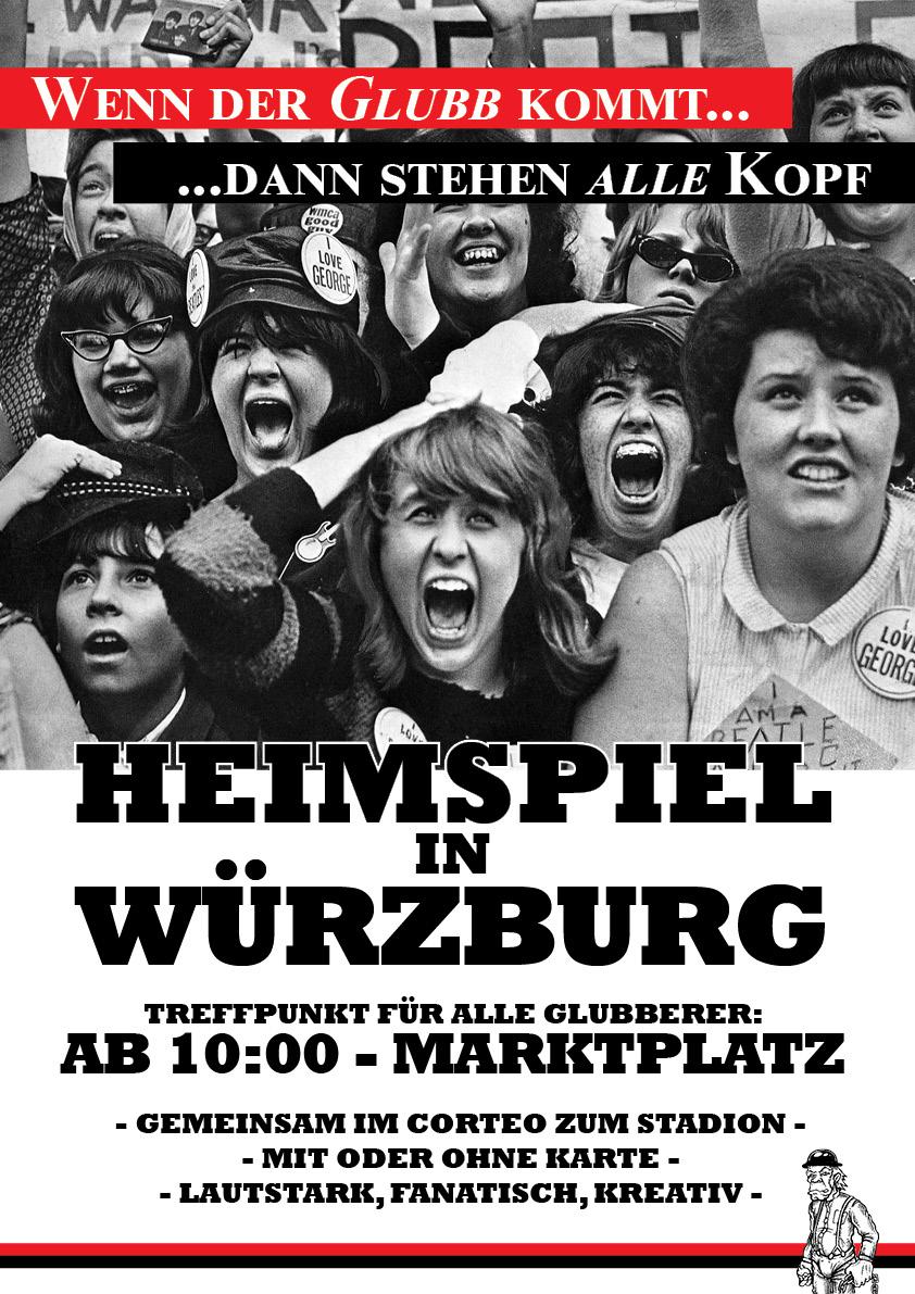 Heimspiel in Wuerzburg