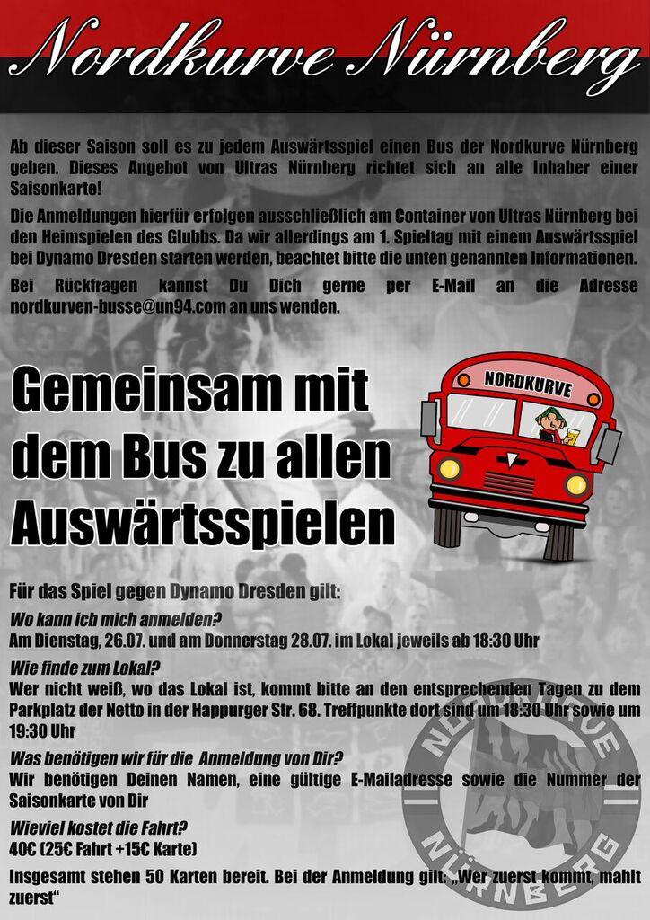 Nordkurven Busse Saison 2016/17