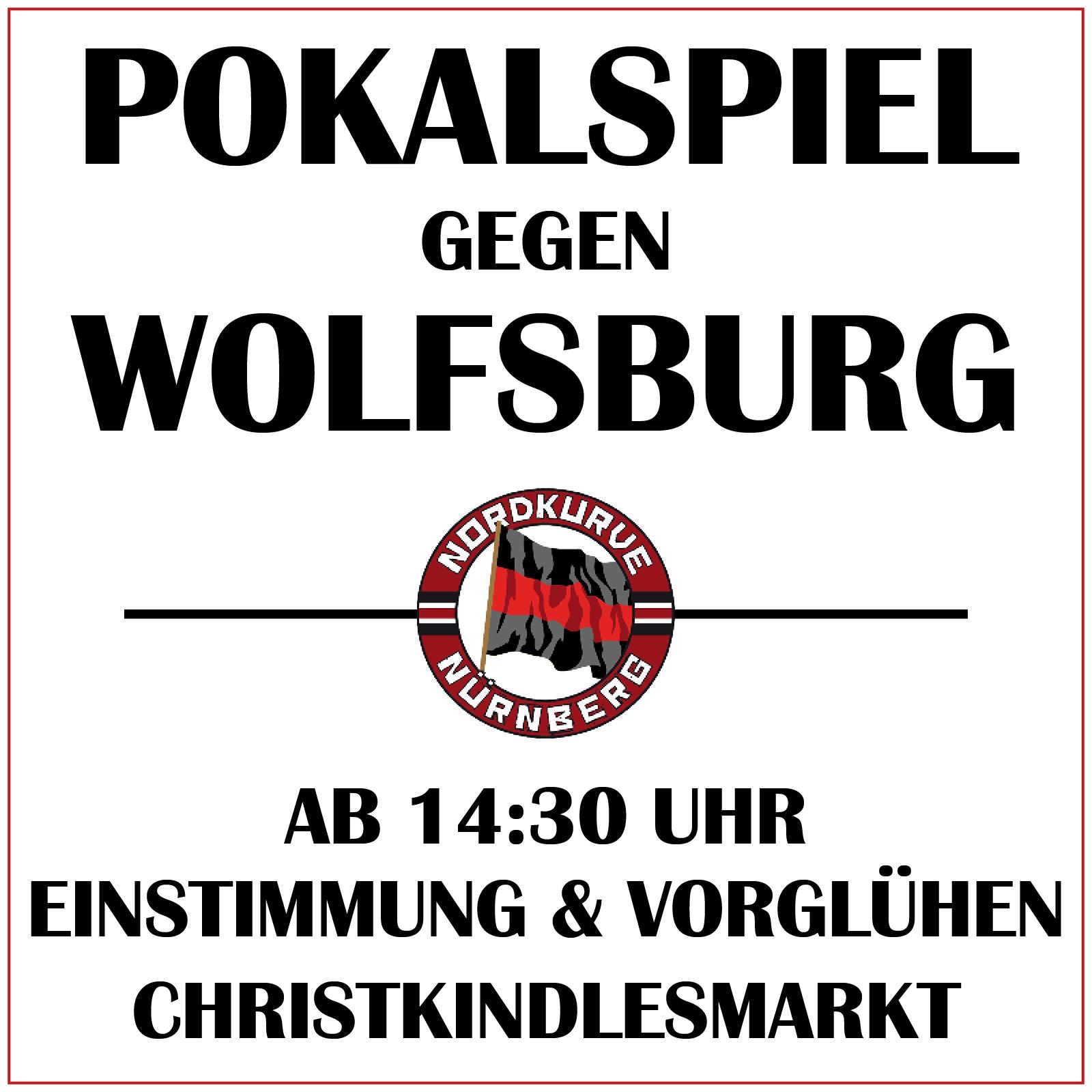 Pokalspiel Wolfsburg