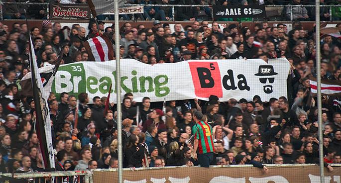 Spruchband Breaking BDA