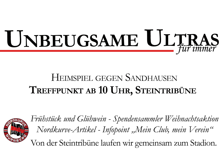 Treffpunkt Heimspiel Sandhausen