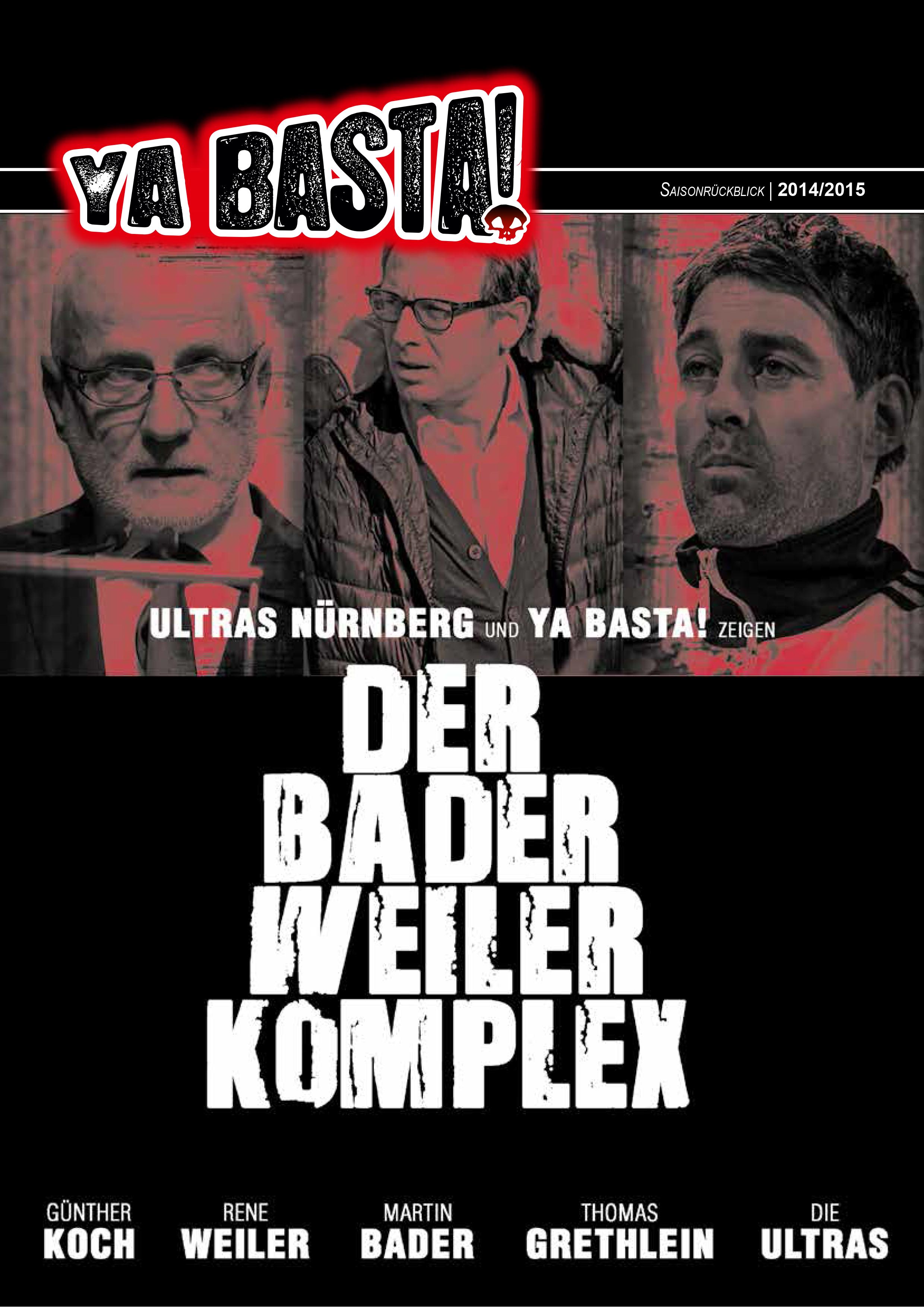 YB Saisonrückblick 2014/15 Cover