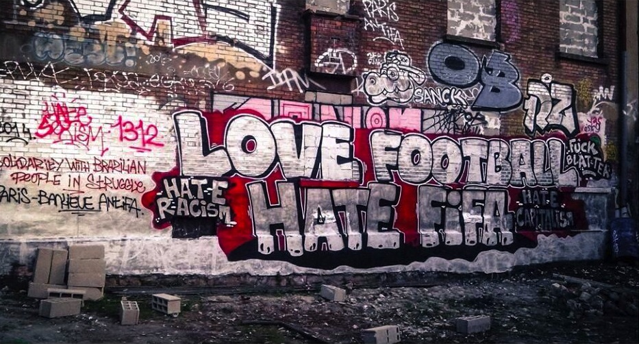 love football hate fifa